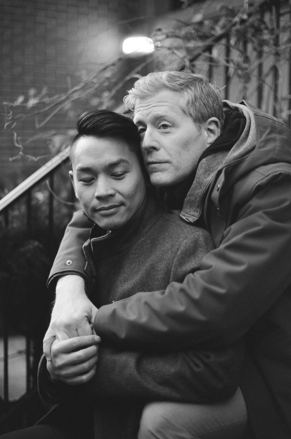 Ken and Anthony Rapp Engagement Photography - LGBTQIA Wedding Photographers - New York City Wedding Photography - Anthony Rapp Engaged